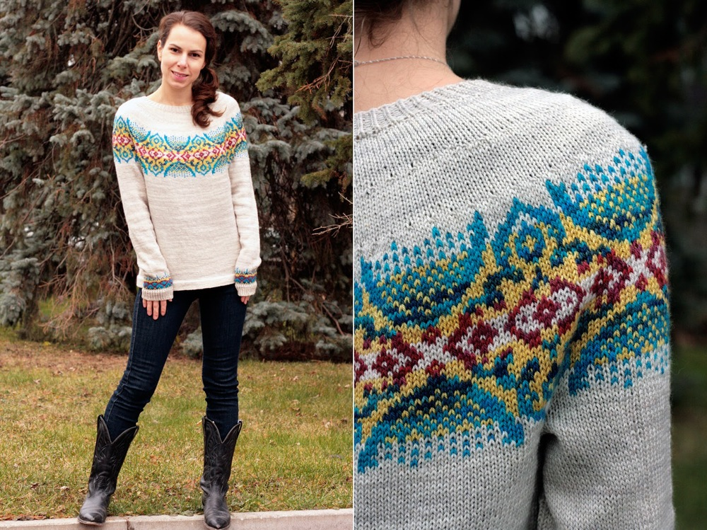 COLORWORK DEMYSTIFIED WITH TANIS FIBER ARTS | VERYSHANNON.COM #SSKAL14 #KNITTING