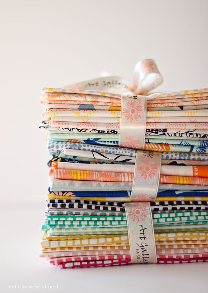 tule and squared from art gallery fabrics