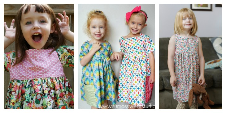 sally dress by very shannon || sewn by made with moxie, sumos sweet stuff & imagine gnats