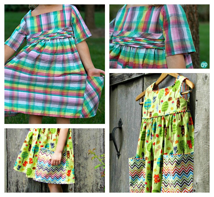 sally dress by very shannon || sewn by the train to crazy & sew very