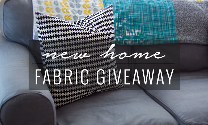New Home Fabric Giveaway || VeryShannon.com