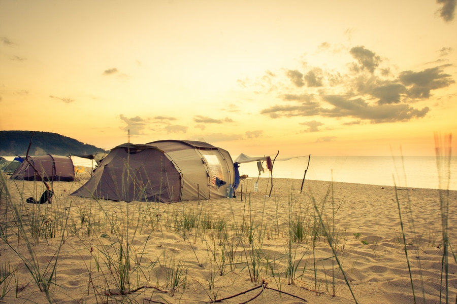 Summer Camping by Valentin Stoev on Etsy