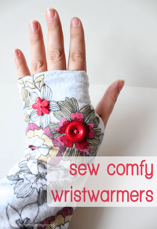 Sew Comfy Wristwarmers Tutorial — VERY SHANNON