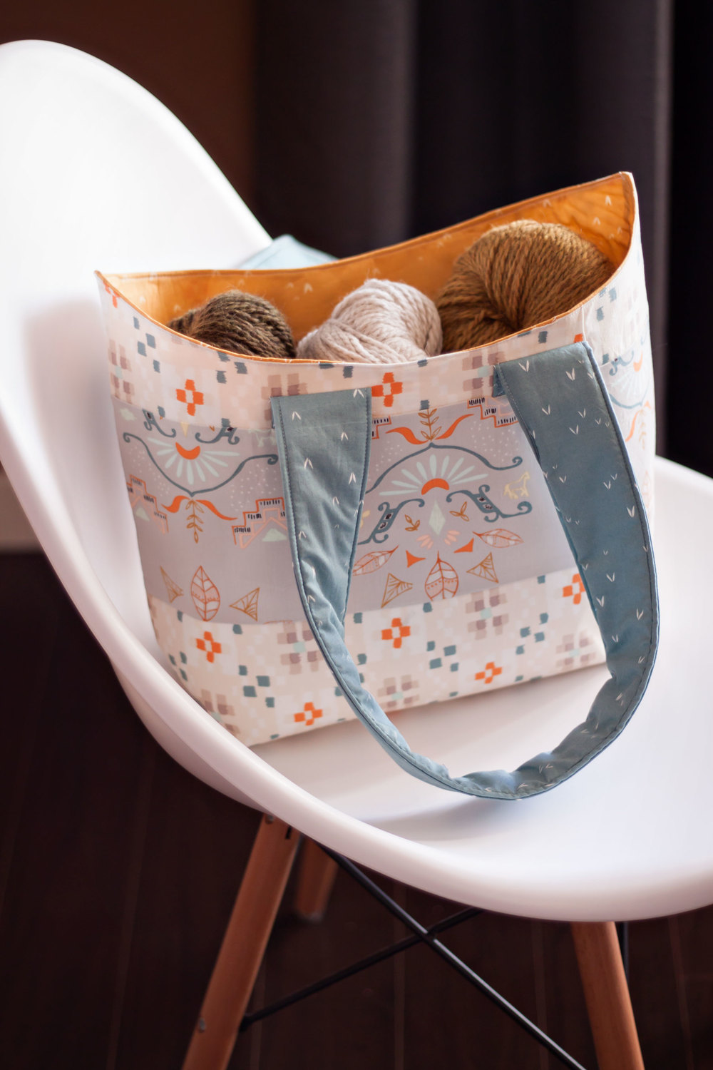 BUCKET BASKET TOTE PATTERN BY VERY SHANNON