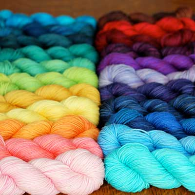 Knitting with Hand-dyed Yarns with Tanis Fiber Arts