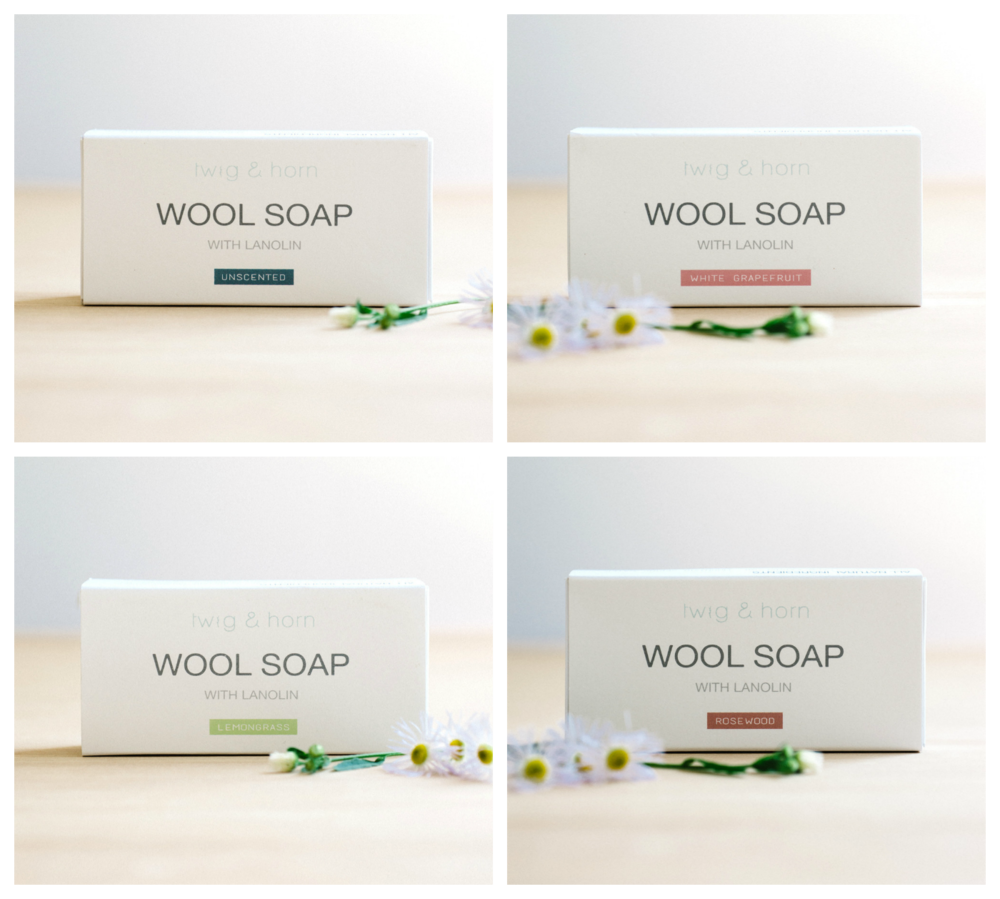 Twig & Horn Wool Soaps