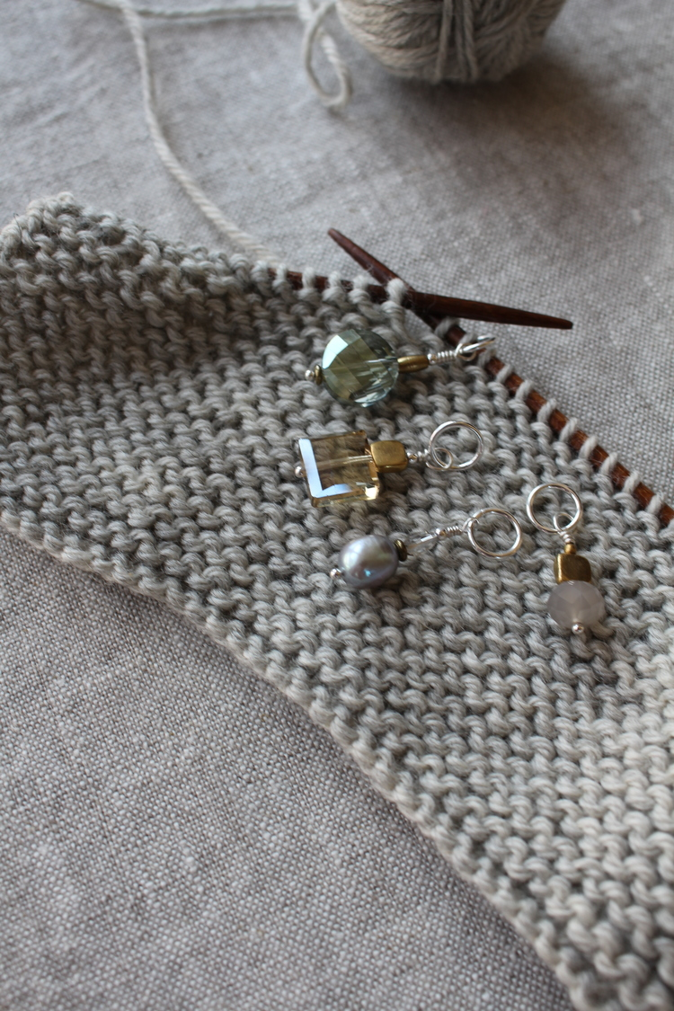 Wool and Wire Stitch Markers