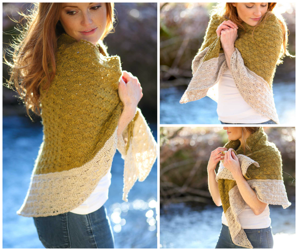 Amberle Knitting Pattern by Shannon Cook on VeryShannon.com #amberleshawl
