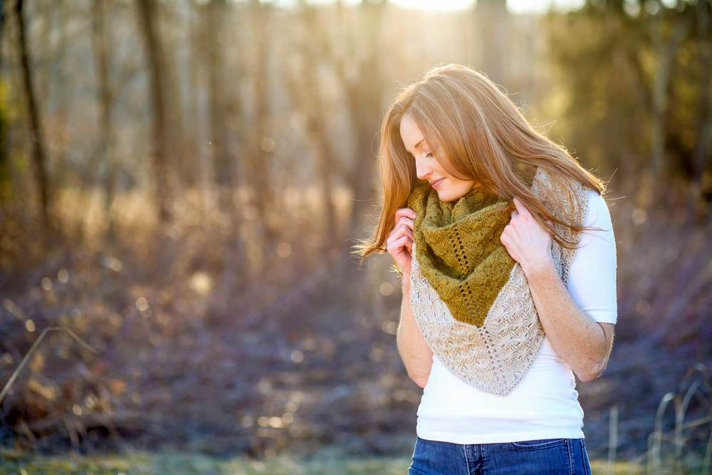 Amberle Shawl pattern by Shannon Cook of VeryShannon.com #abmerleshawl