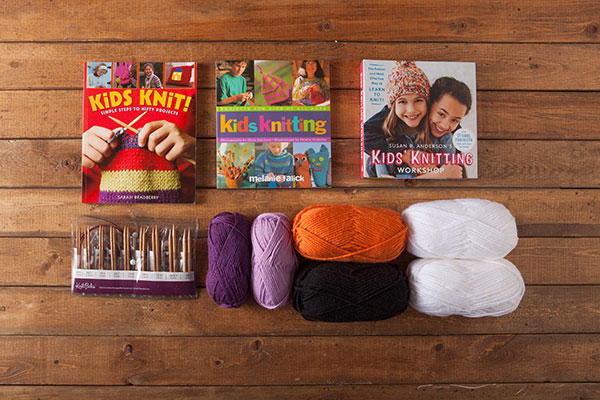 Kids Knitting Kit from Knit Picks