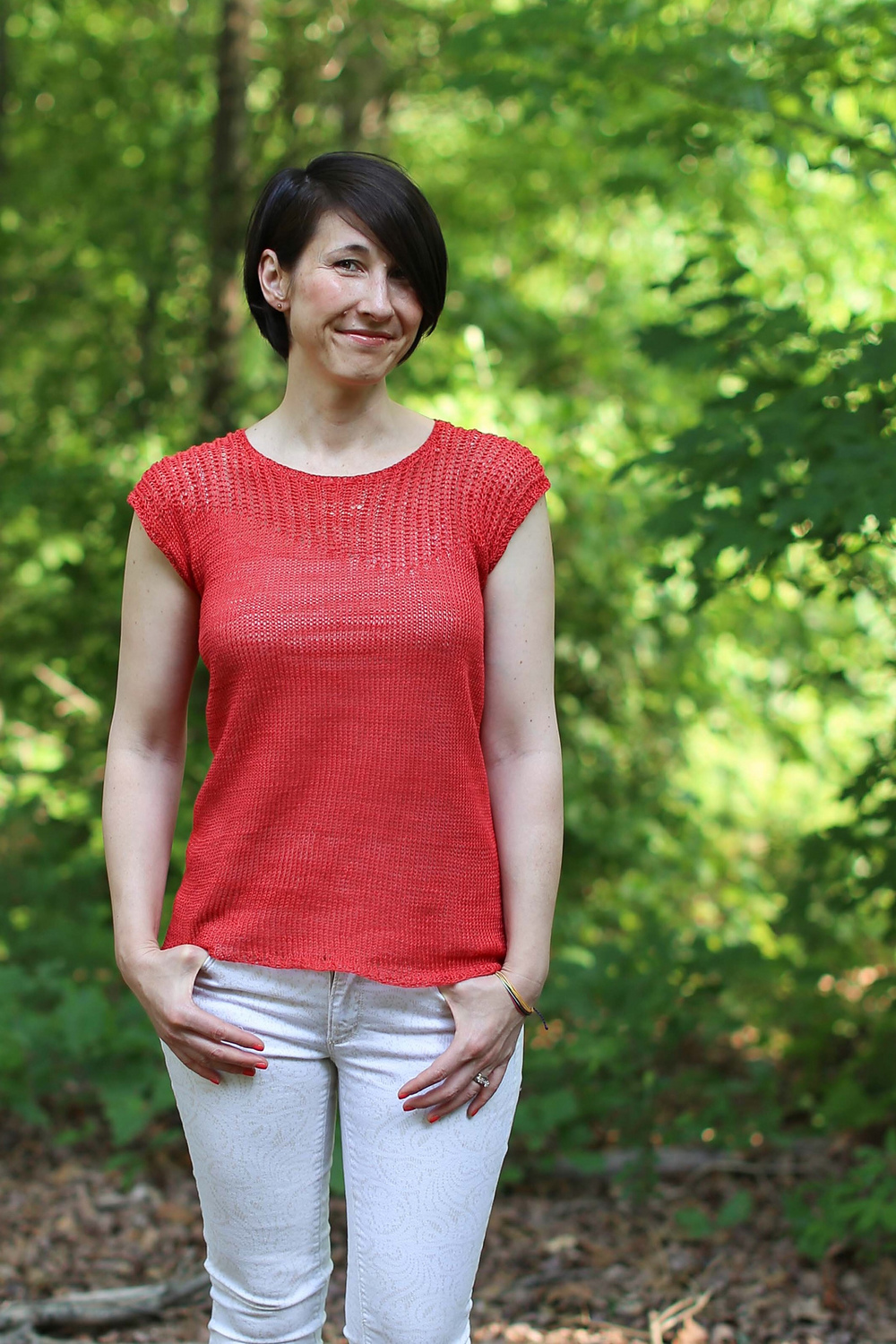 Linum Tee knit by CatReading