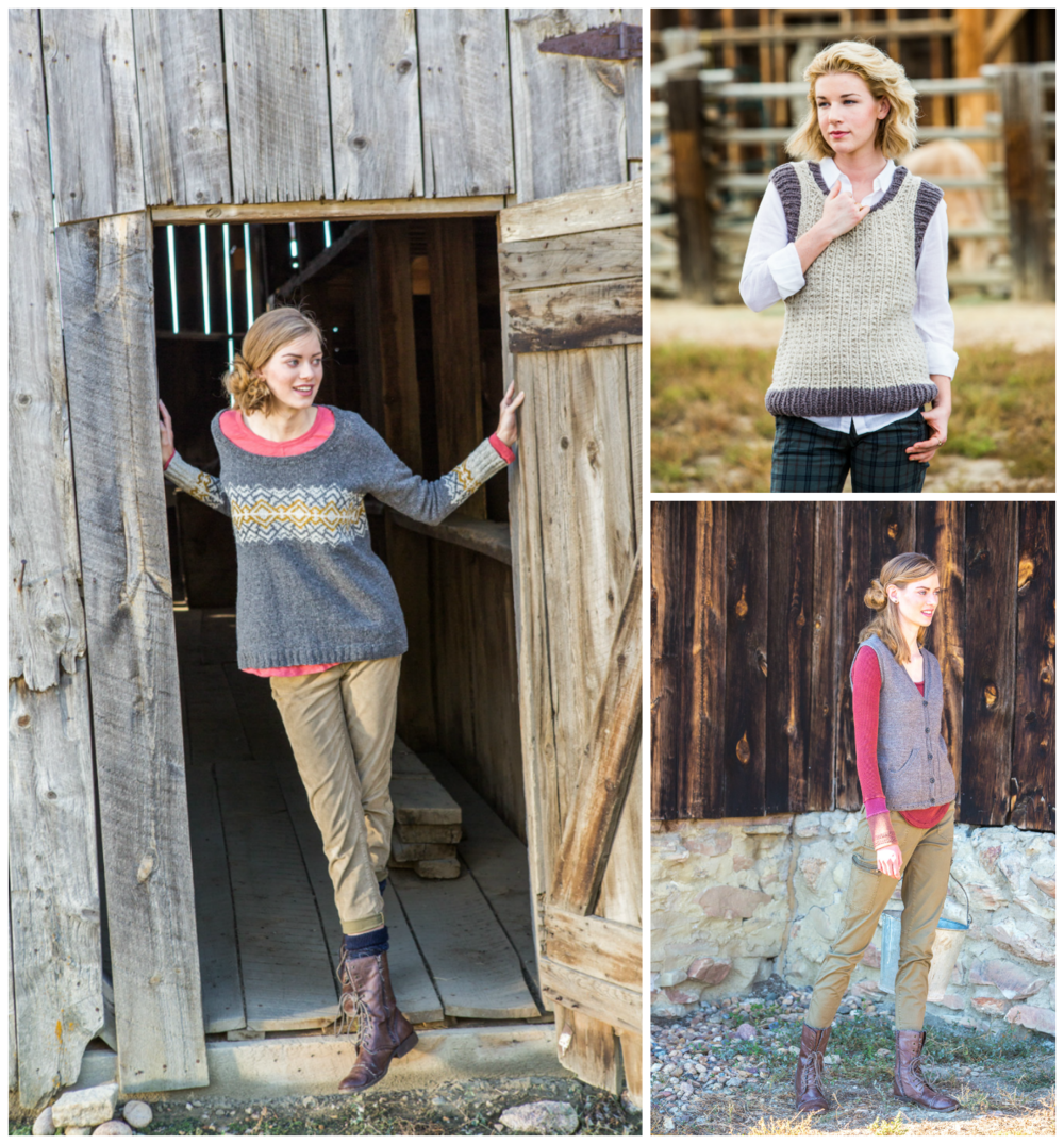 Rugged Knits by Andrea Rangel