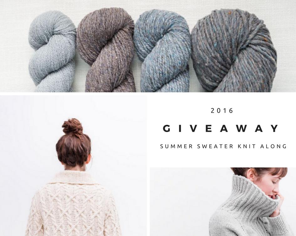 SummerSweaterKnitAlongGiveaway.png #sskal16