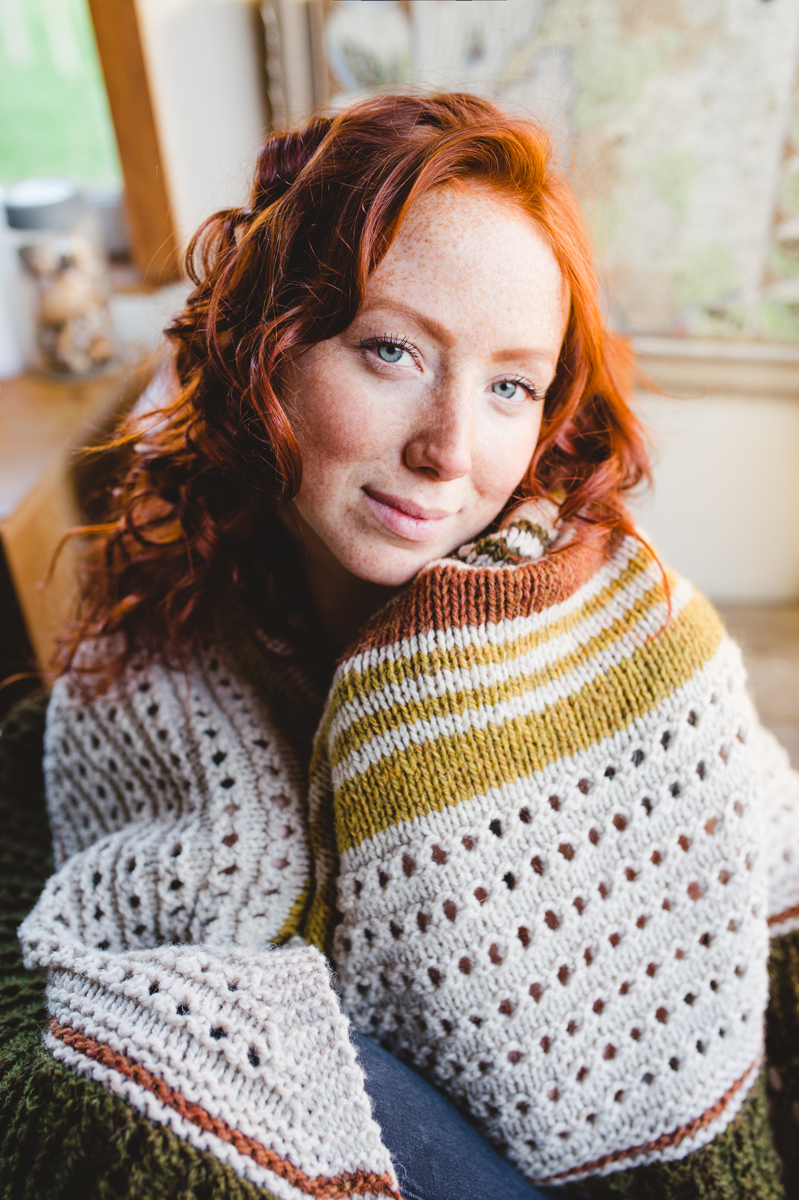 Hudson Shawl by Shannon Cook #hudsonshawl #withinknits