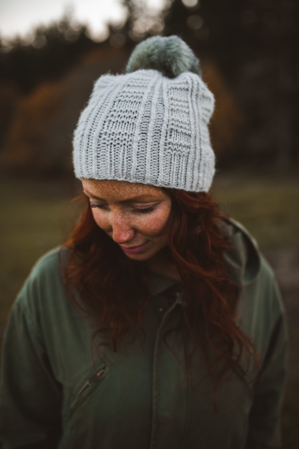 Tread Hat by Shannon Cook #treadhat #withinknits