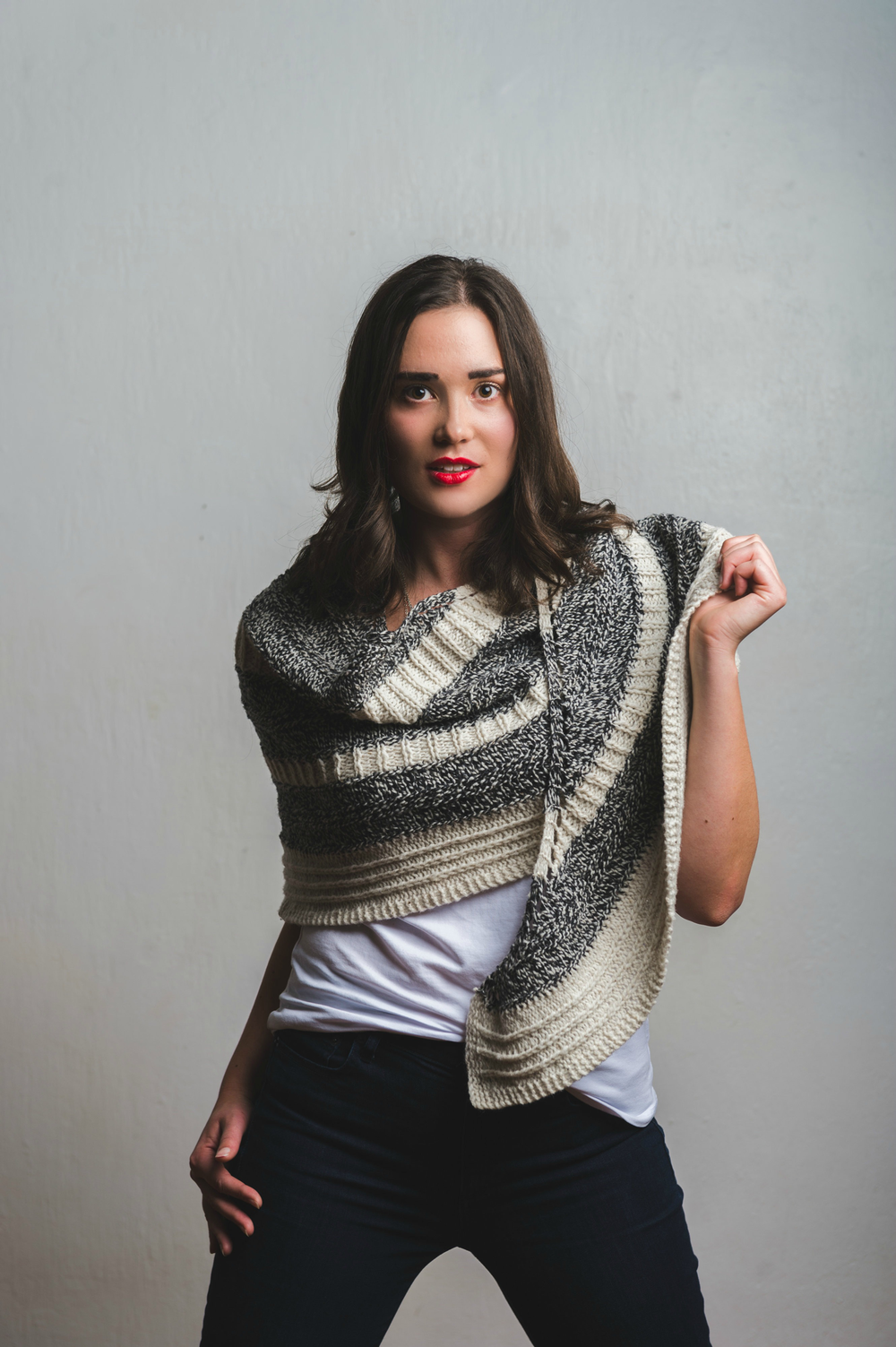 Feyre Shawl knitting pattern by Shannon Cook #feyreshawl