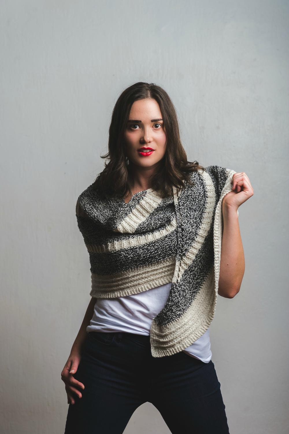 Feyre Shawl knitting pattern by Shannon Cook #feyreshawl
