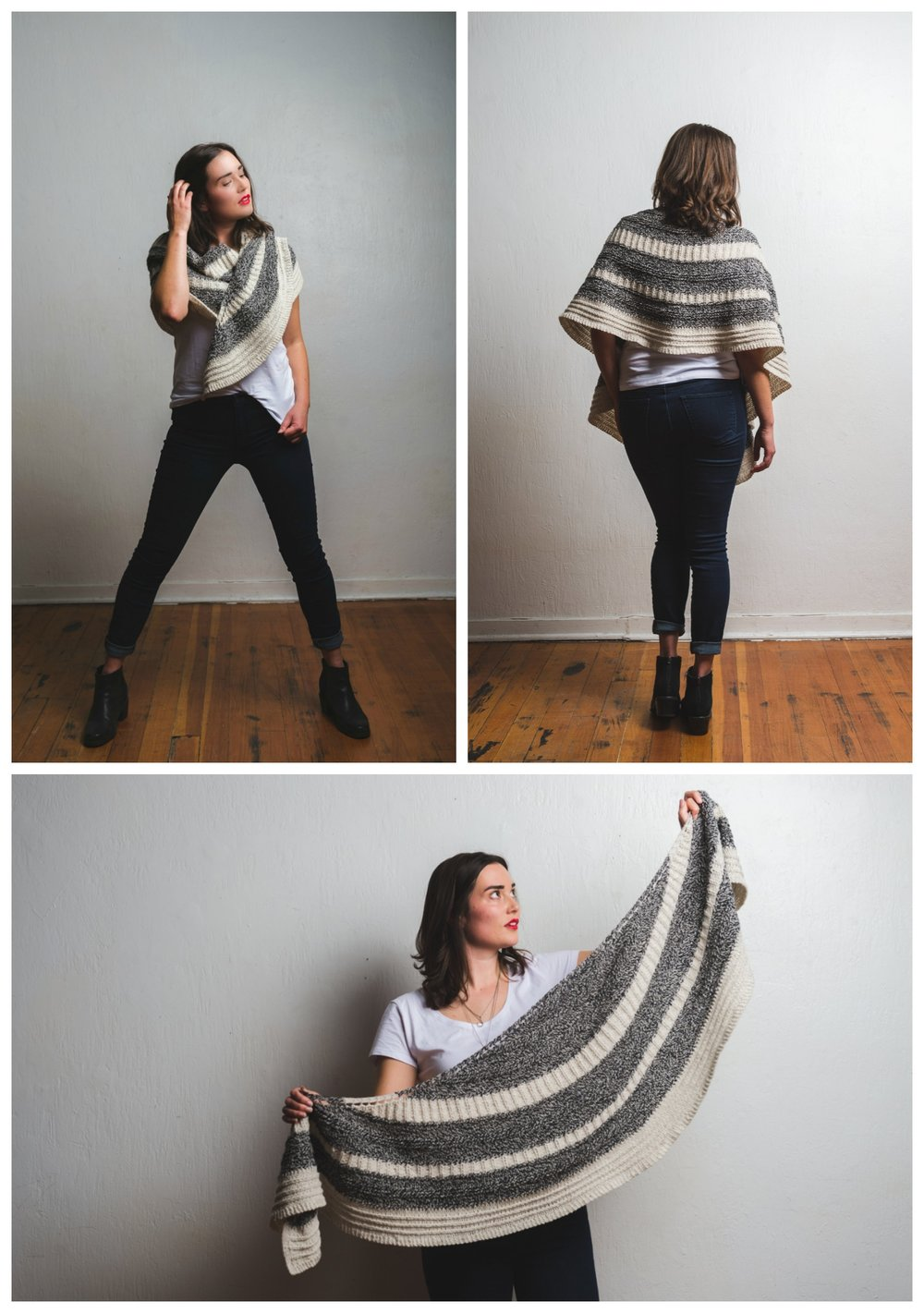 Feyre shawl knitting pattern by Shannon Cook of VeryShannon.com #feyreshawl