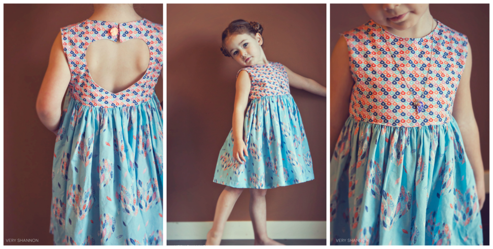 Sweetheart Dress Sewing Pattern by Very Shannon
