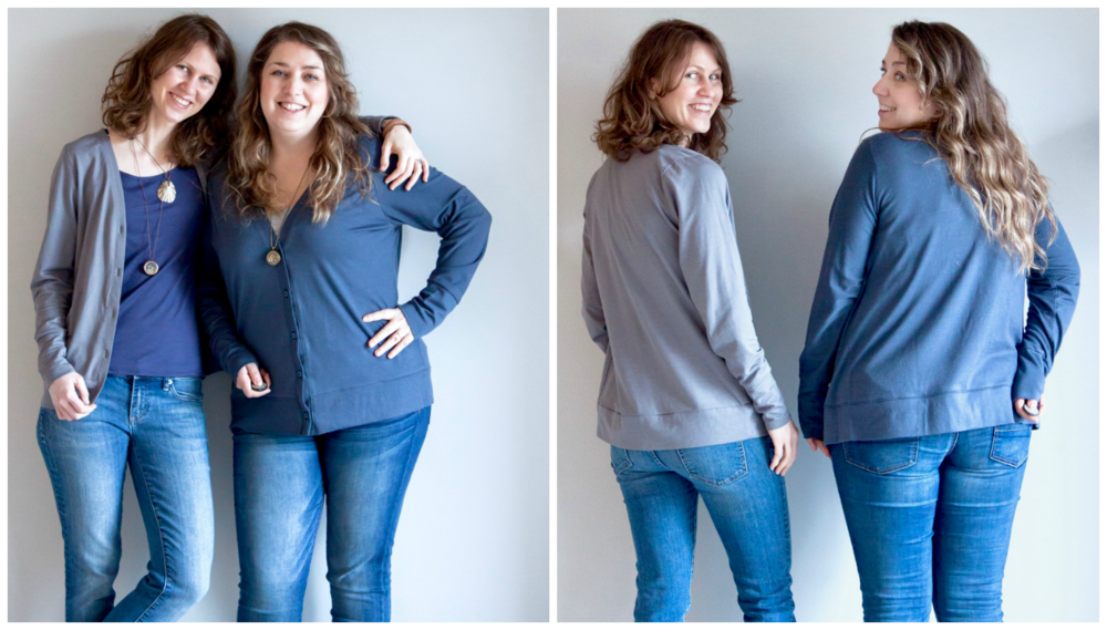 Phinney Ridge Cardigan sewn by VeryShannon and Andrea Rangel