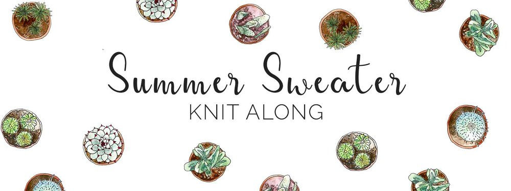 Summer Sweater Knit Along 2017 on VeryShannon.com #sskal17