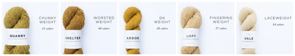 brooklyn tweed yarn