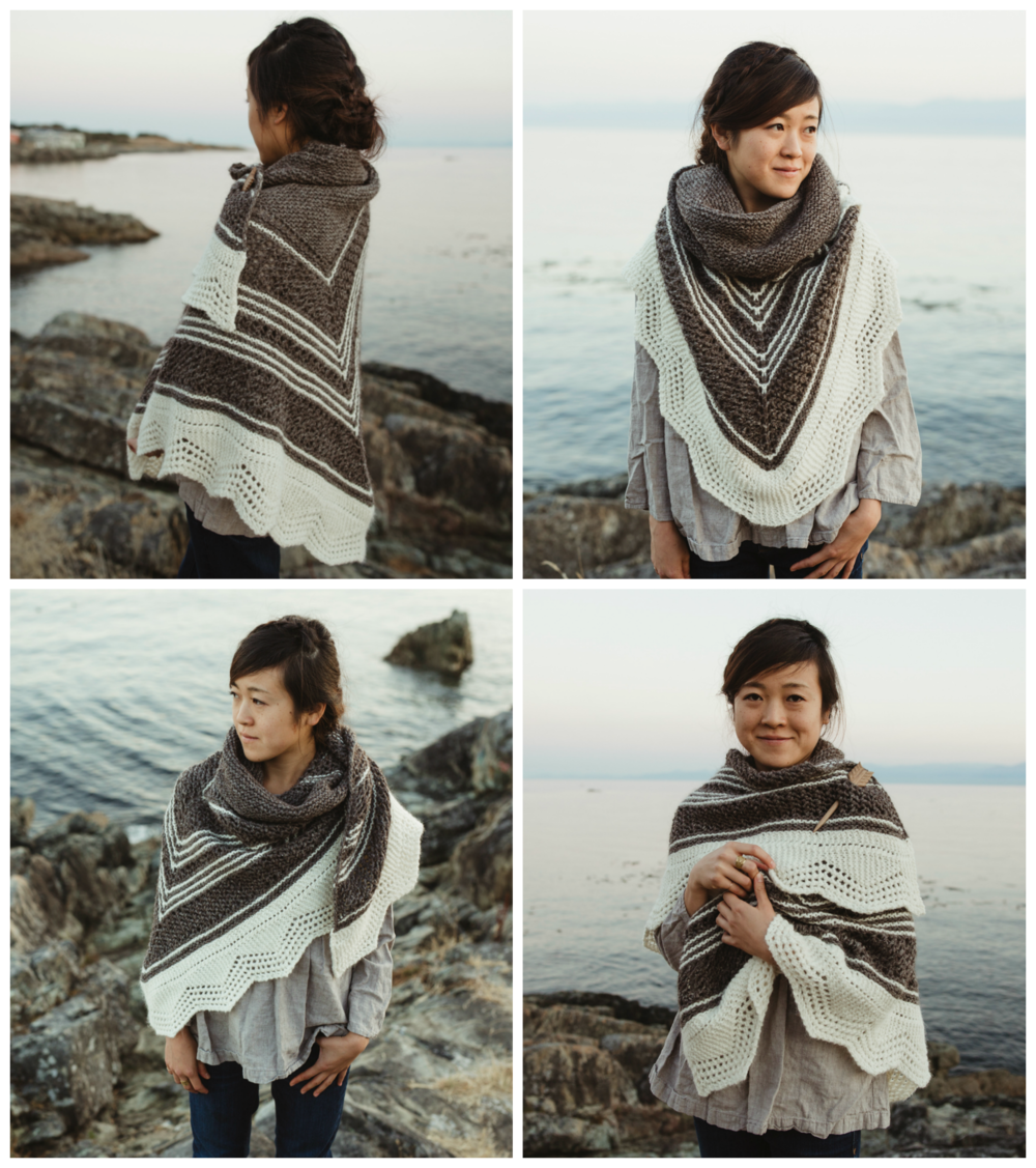 Haro Shawl by Shannon Cook of VeryShannon.com #haroshawl