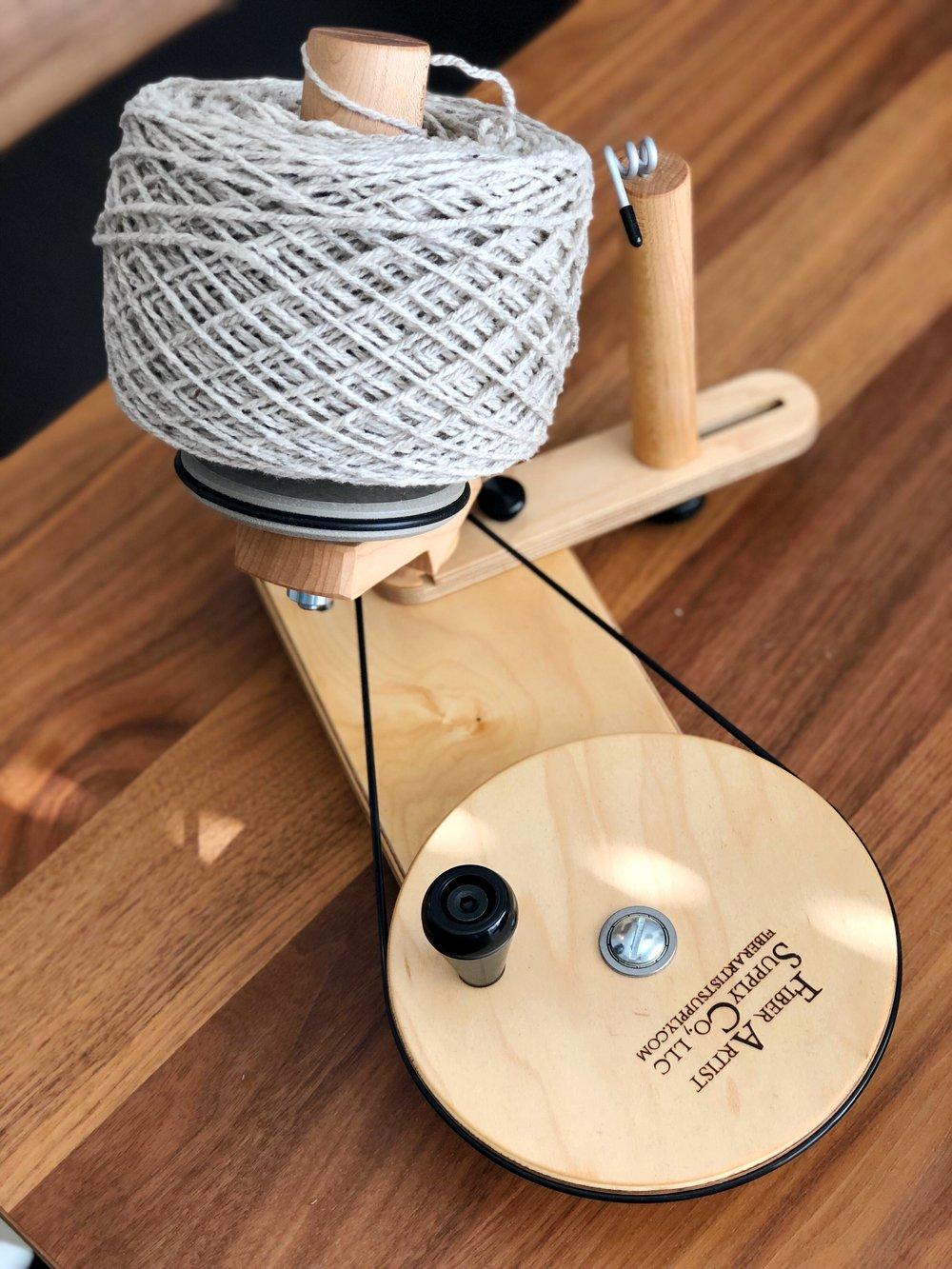 Fiber Artist Supply Co Maple Jumbo Ball Winder
