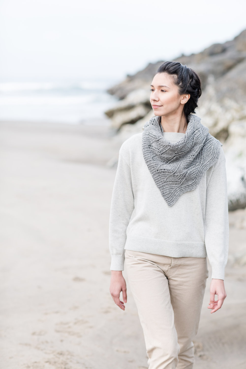 RIVULET by Shannon Cook for Wool People 12 #rivuletwrap #woolpeople12