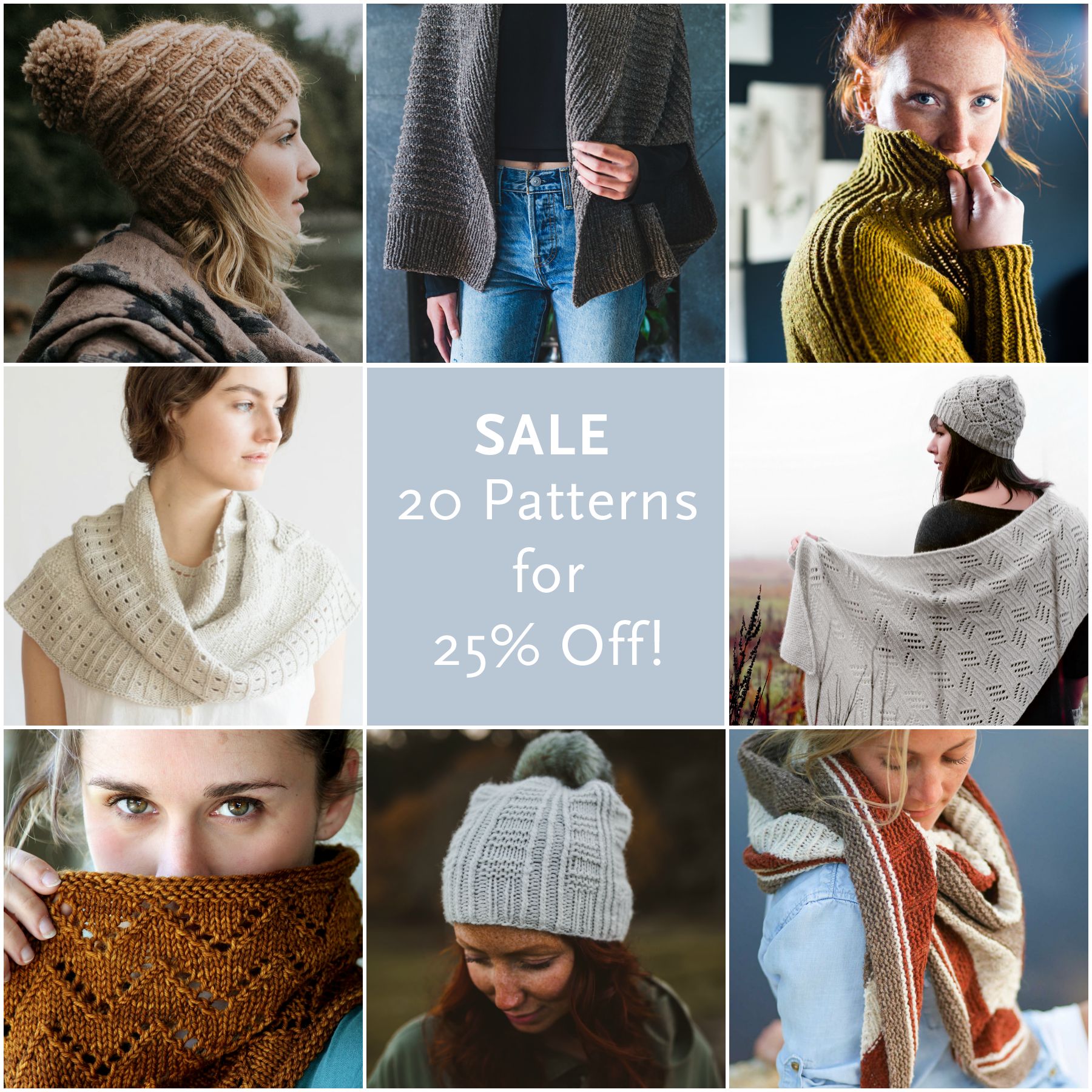 3e49b96c91b SAVE 25% ON 2O PATTERNS - INDIE DESIGN GIFT-A-LONG