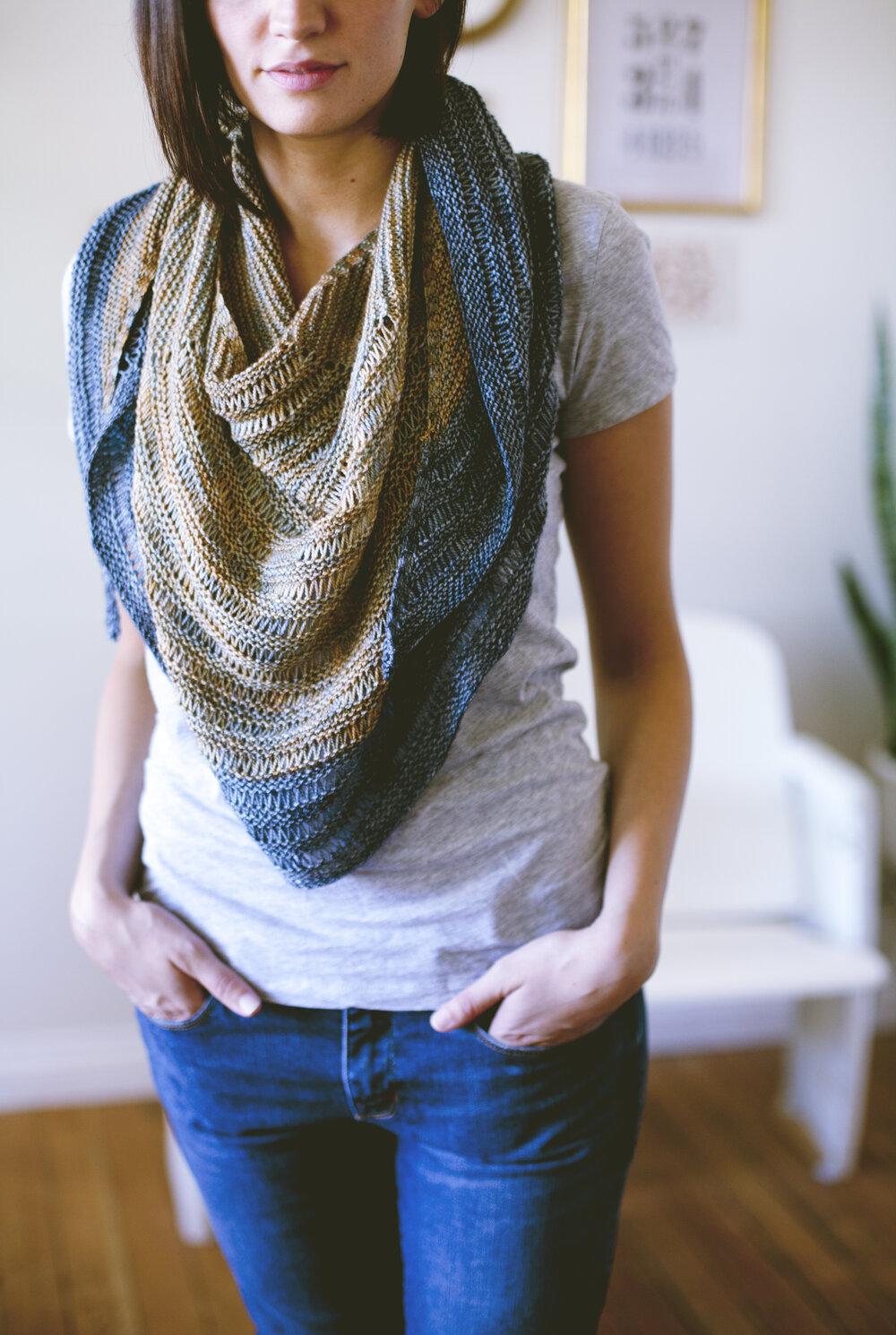 Laylow Shawl PDF Knitting Pattern — VERY SHANNON