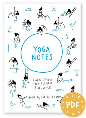 Yoganotes Cover Pdf WithSticker Small