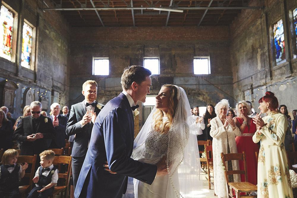 Asylum Chapel Peckham Wedding Photography | Sara Lynd Weddings | Alternative, Documentary, Creative Wedding Photographer based inLondon