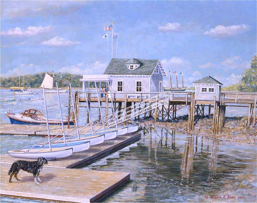 The Dog Days of Summer On North Haven by William R. Beebe
