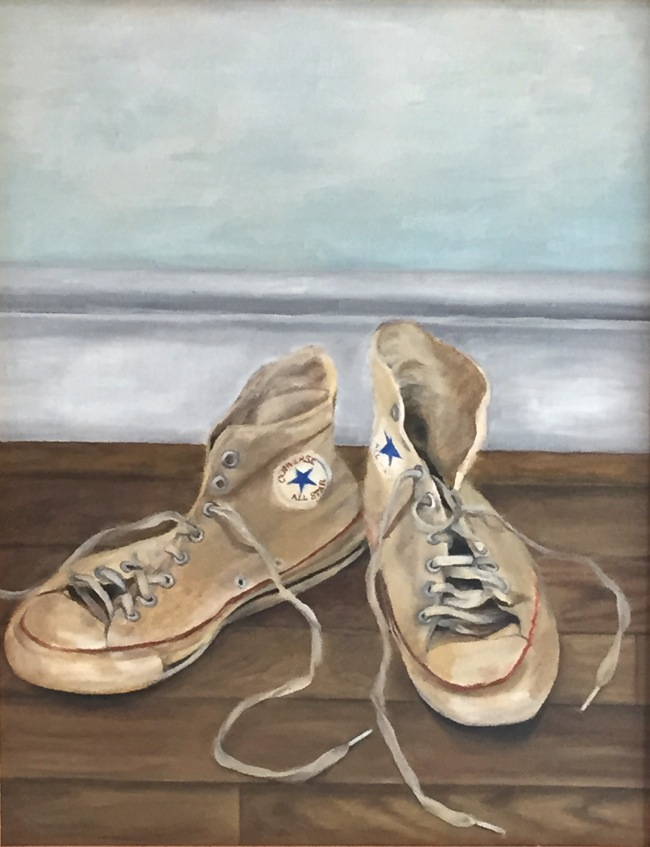 High Tops painting by William R. Beebe (the very early years!) :-)