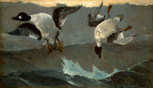 Right and Left,  1909 by Winslow Homer