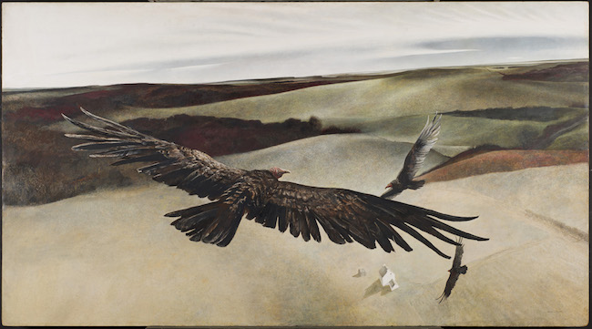 Soaring by Andrew Wyeth