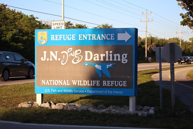 J.N. Ding Darling National Wildlife Refuge Entrance