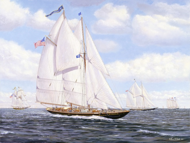 The Virginia   by William R. Beebe, commissioned