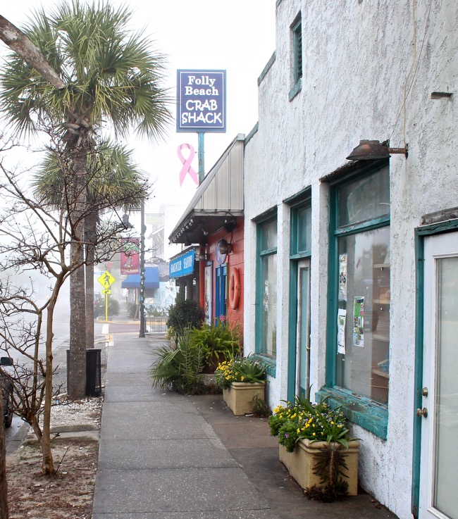 The Crab Shack in Folly Beach, SC Photo by William R. Beebe