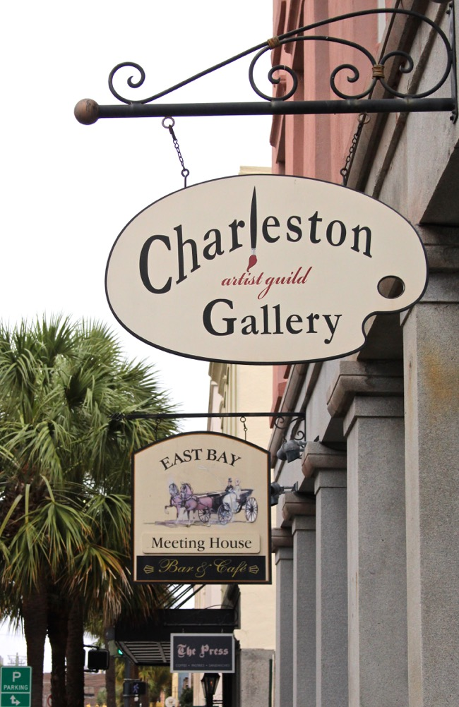 Charleston Artist Guild in Charleston SC Photo by William R. Beebe