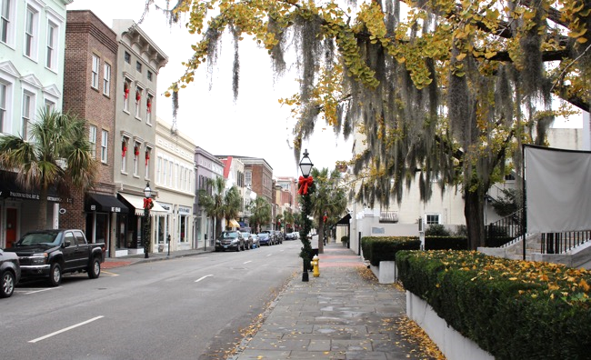 Downtown Charleston SC Photo by William R. Beebe