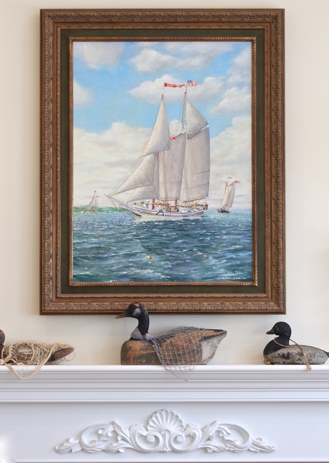 The Heritage    by William R. Beebe, oil on canvas, 36 x 24, framed, $15,000