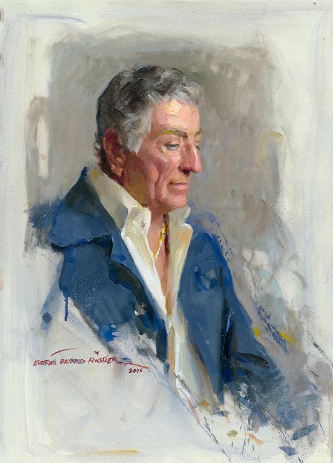 Tony Bennett portrait