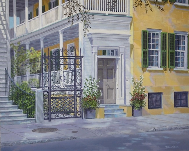 43 Meeting Street    by William R. Beebe, 24 x 30, Oil on canvas, $6500