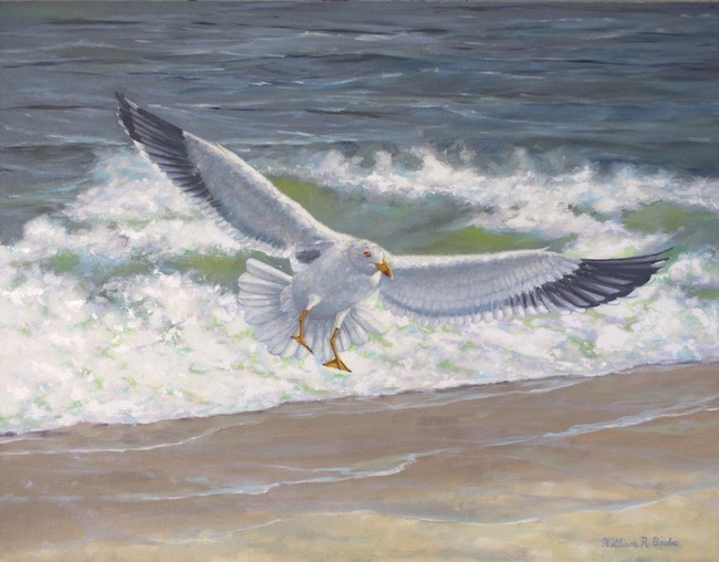 Shore Bound    by William R. Beebe, 22 x 28, Oil on Canvas, $3800
