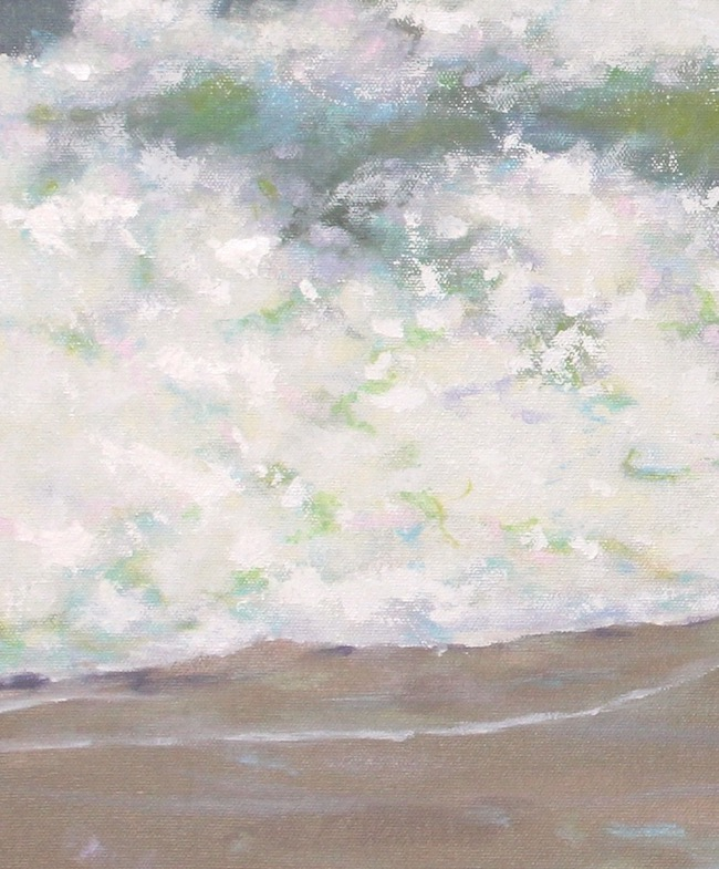 Shore Bound   by William R. Beebe, water detail