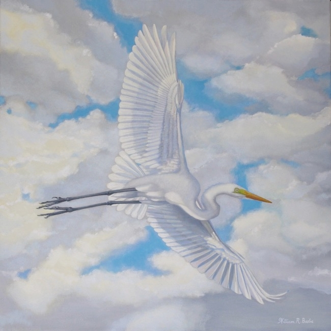 Flying High    by William R. Beebe, 30 x 30, Oil on canvas, $4000