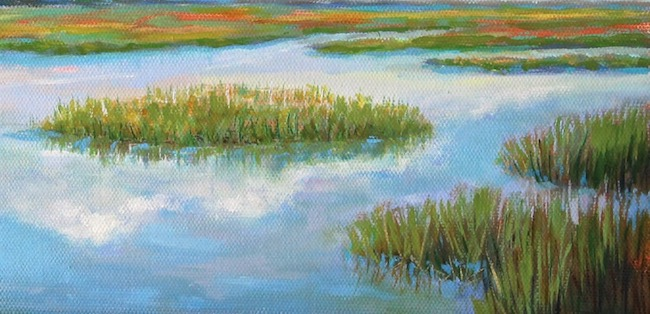 Lowcountry Reflections   (detail shot) by William R. Beebe
