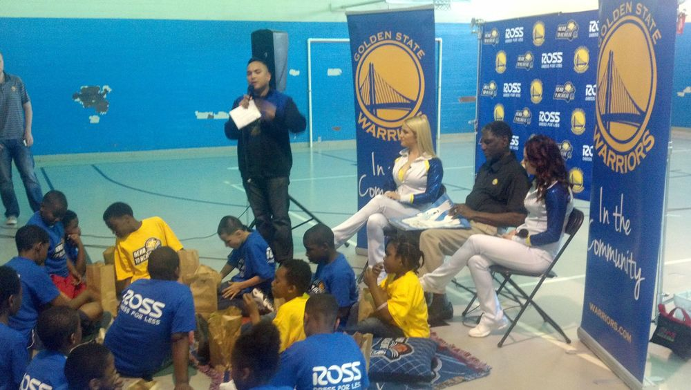 Warriors Reading Event in partnership with Ross Dress For Less